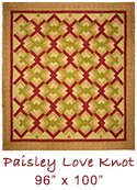 Paisley Love Knot