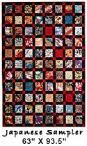 Japanese Sampler Quilt by Judy Hopkins