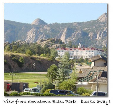 Stanley Hotel at Estes Park, CO, © copyright photo by Heidi Wurst