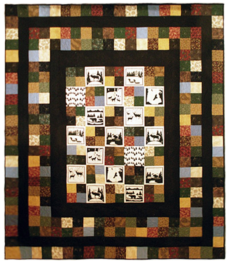 "Thimbleberry Camp Quilt 80"" x 90"""