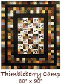 thimbleberry camp quilt