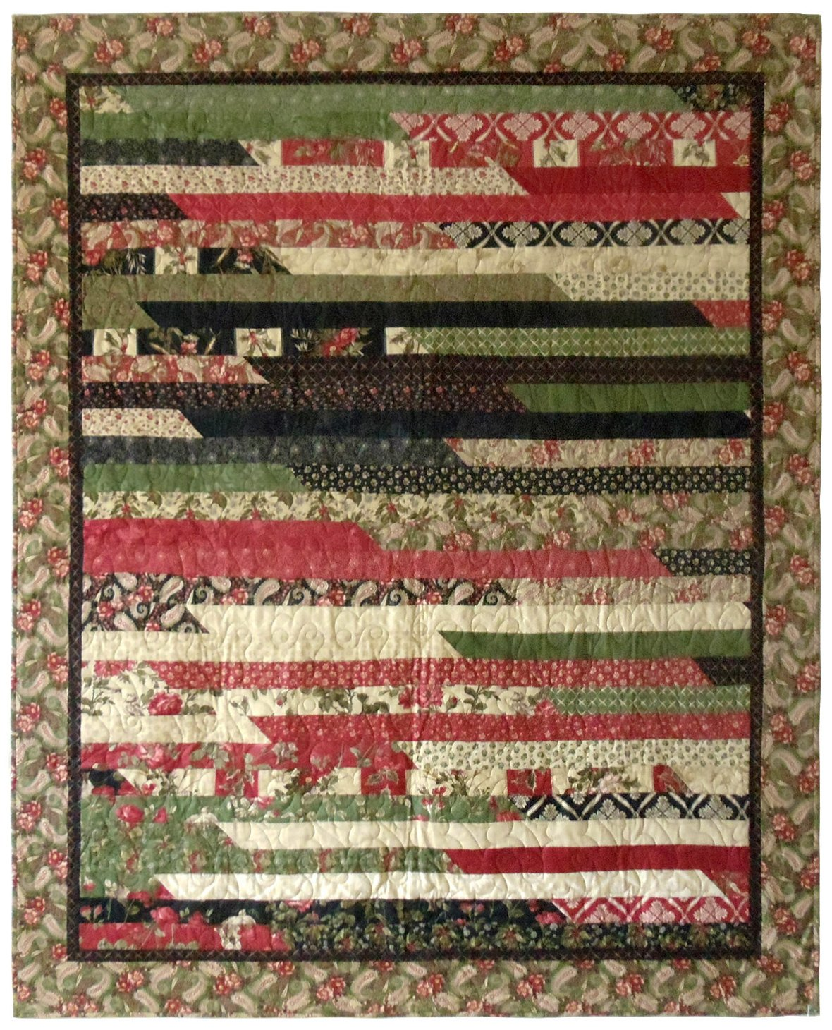 "Almost Christmas Quilt 58"" x 72"""