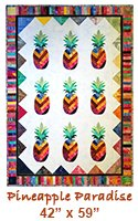 Pineapples Paradise Quilt