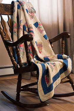 rocking chair quilt